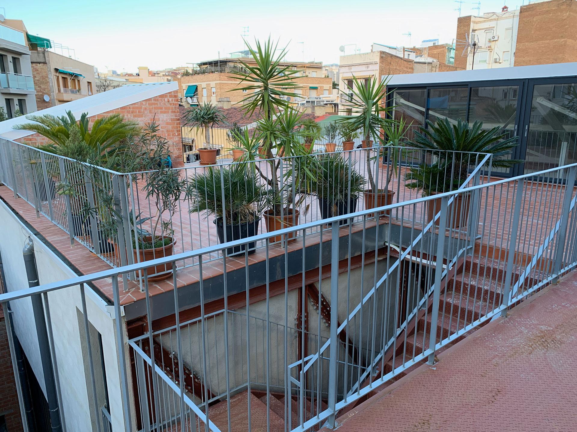 Patio Bar Terrace Alquiler Espacios Barcelona